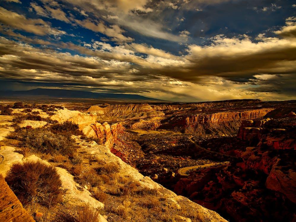 geologie, kaňon, krajina
