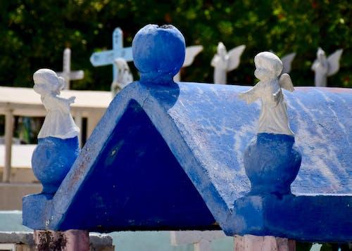 墓園, 天使, 屋頂, 紀念碑 的 免費圖庫相片