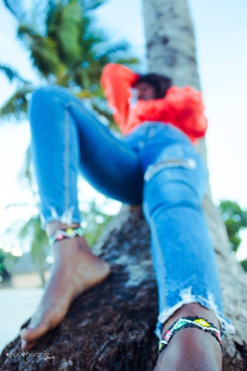 Δωρεάν στοκ φωτογραφιών με chaucharanje μάρκα, δύση του ηλίου, κορίτσι από την αφρική, ομορφιά