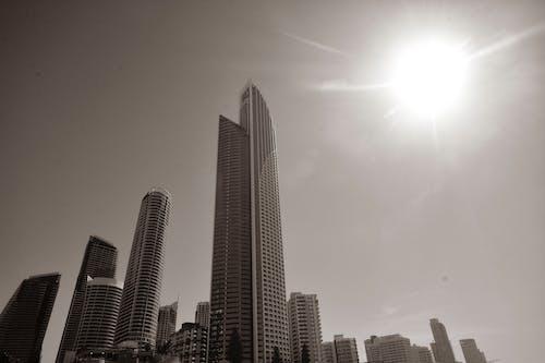 Kostnadsfri bild av byggnader, Sol, strand, surfarnas paradis