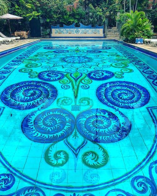 池, 藍色 的 免费素材照片