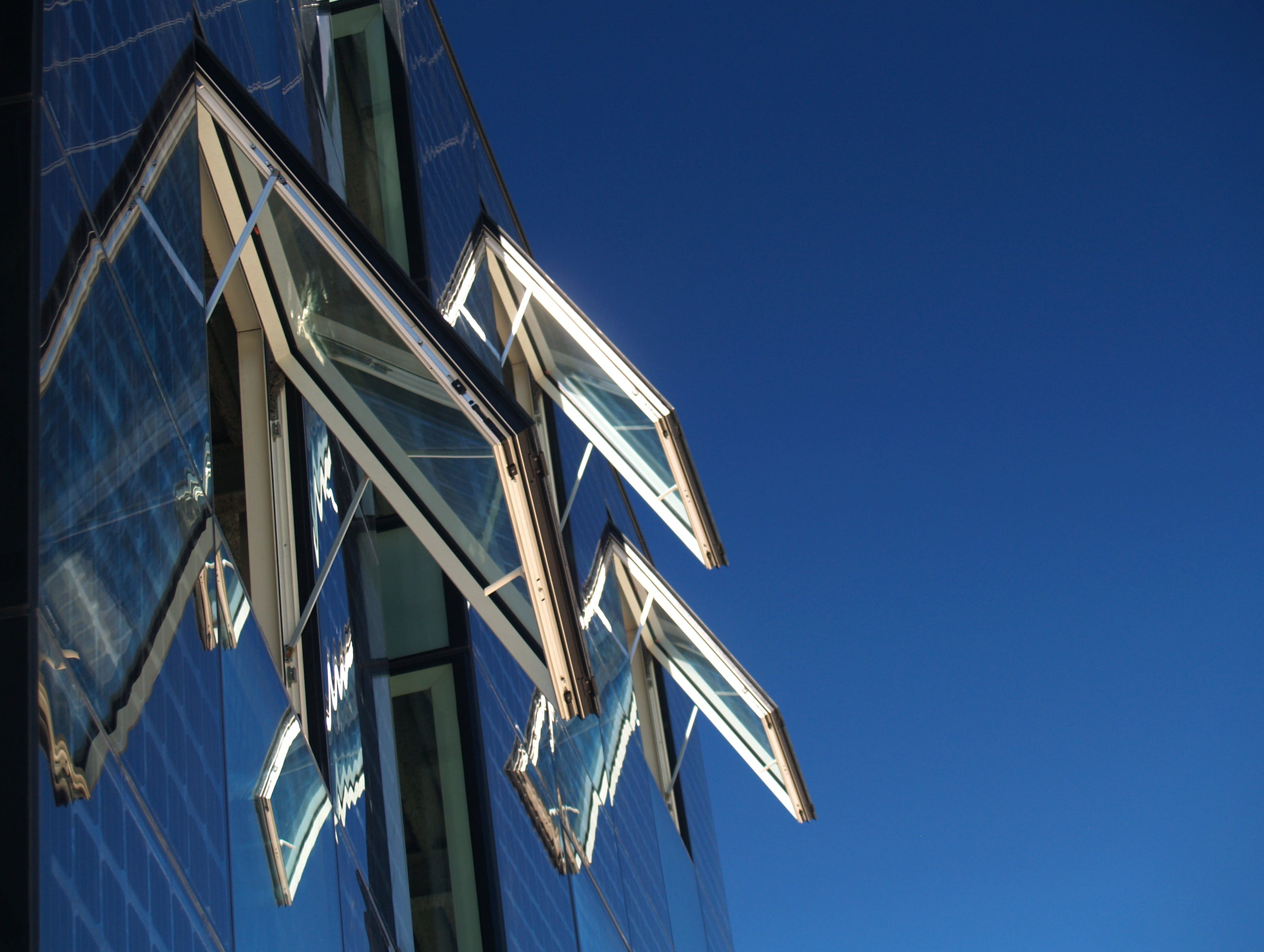 Free stock photo of sky, blue, glass, architecture