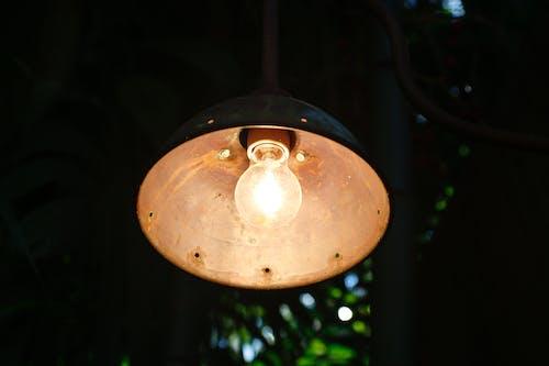 Бесплатное стоковое фото с лампа, лампочка, легкий, освещенный