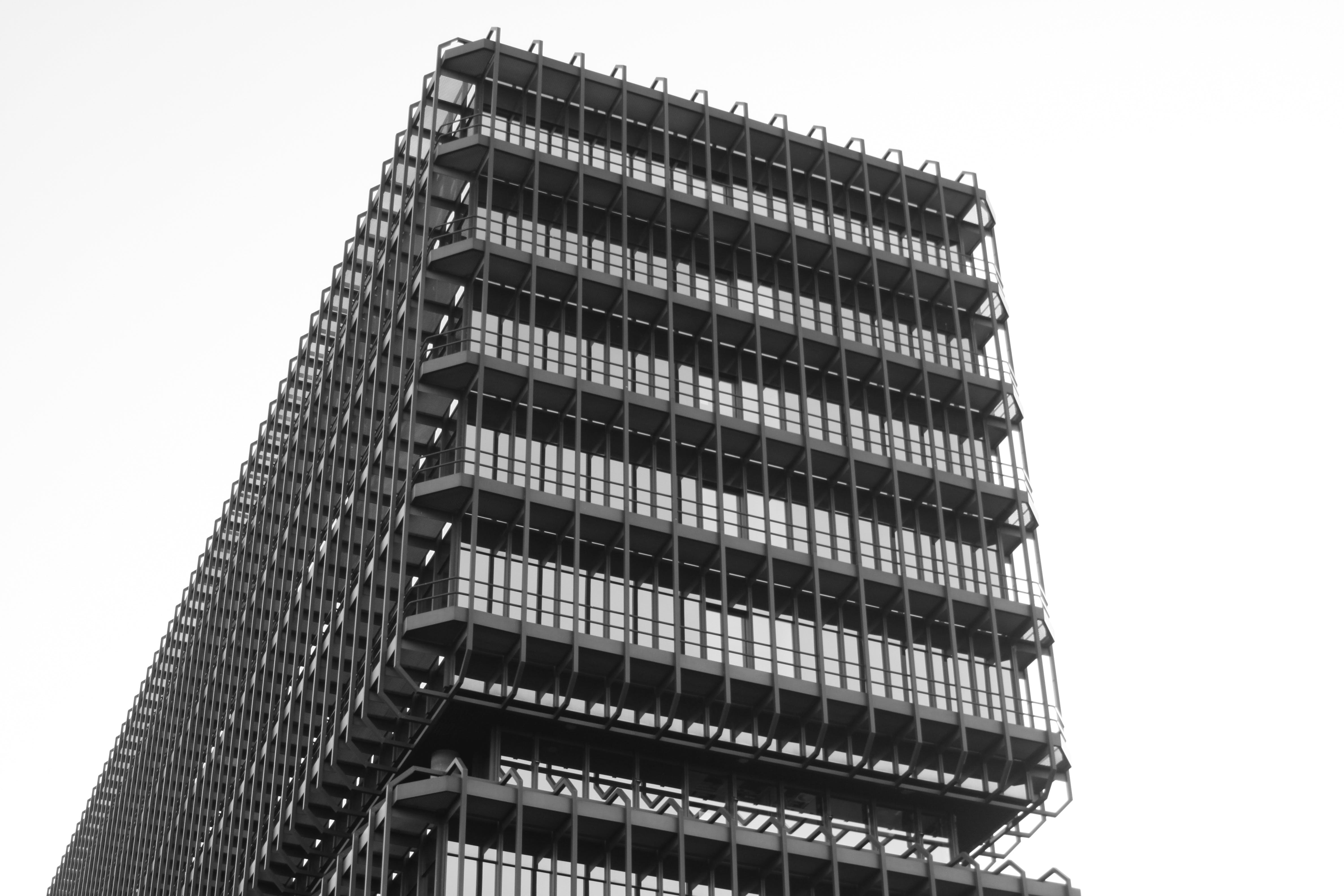 architecture, black-and-white, building