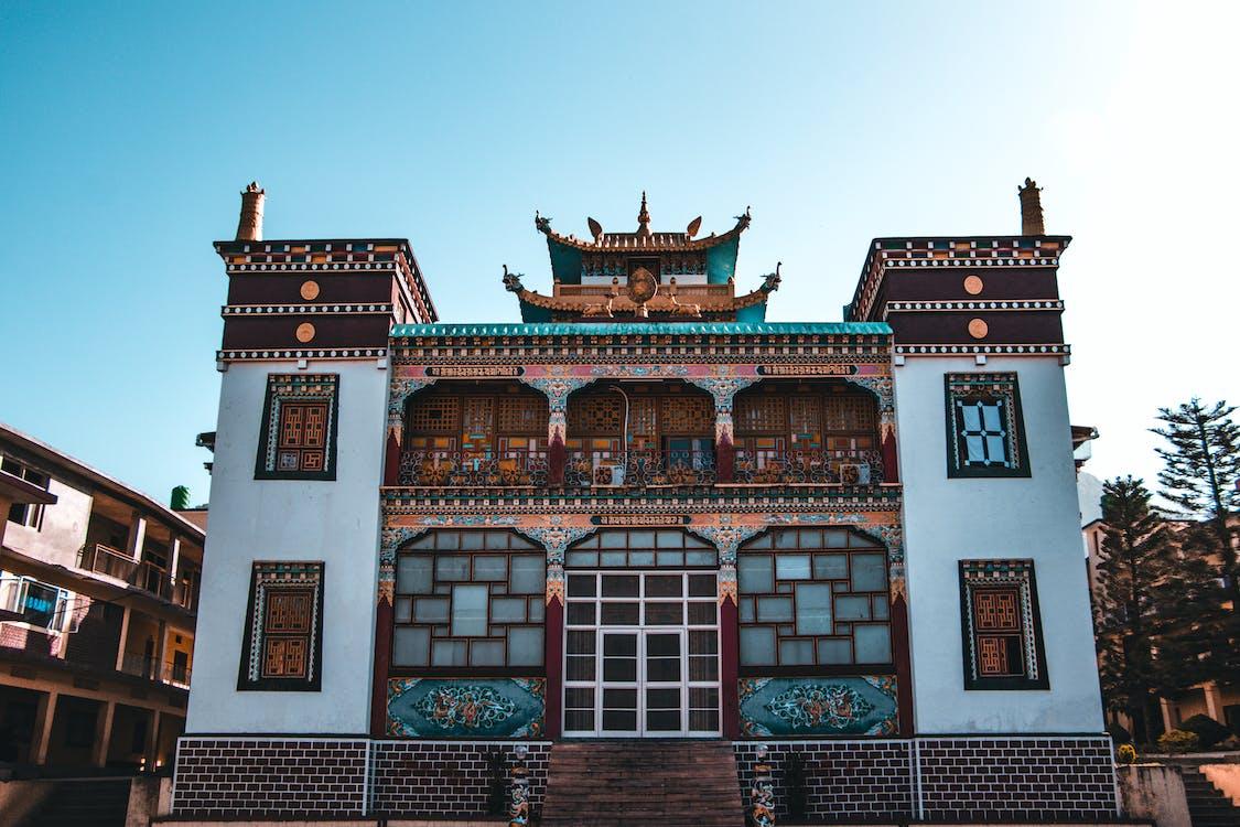 arkitektur, Buddhisme, buddhistisk tempel