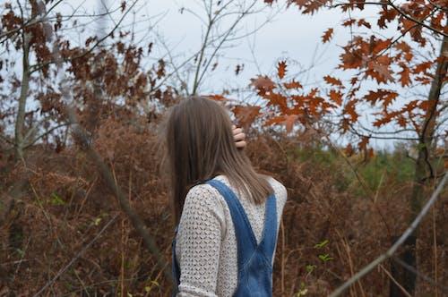 Ảnh lưu trữ miễn phí về áo liền quần, cây, con gái, mùa thu