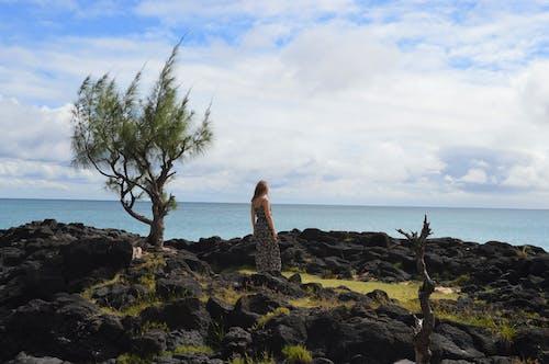 Ảnh lưu trữ miễn phí về con gái, đại dương xanh, Đảo, trời xanh