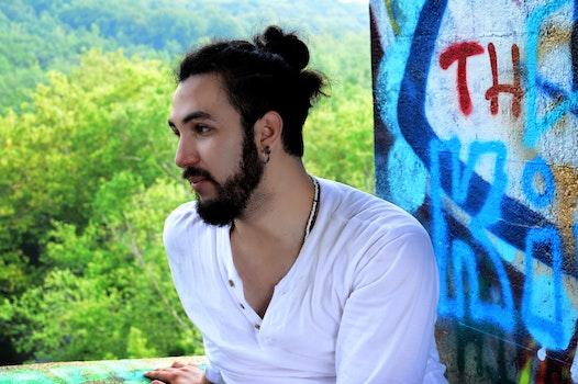 Free stock photo of man, person, art, graffiti