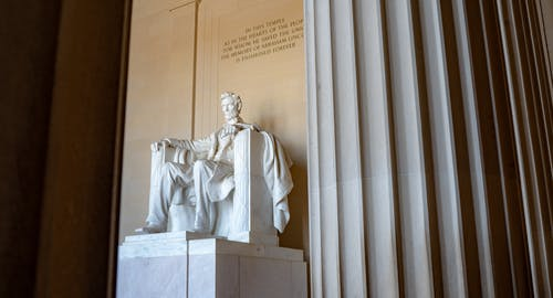 Free stock photo of abraham lincoln, lincoln memorial, statue, washington dc