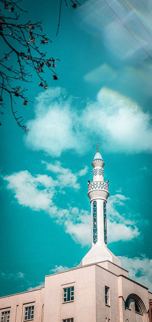 Fotobanka sbezplatnými fotkami na tému mešita, modrá obloha, pretoria