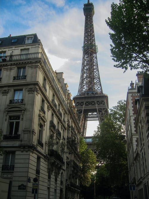 Free stock photo of eiffel tower, france, paris, street