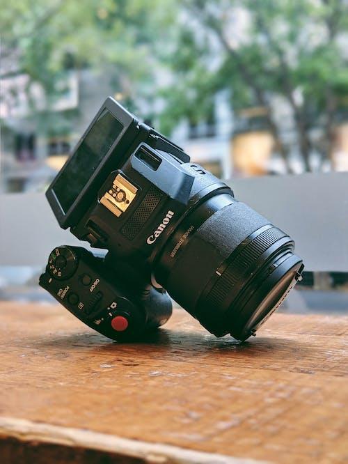 Foto stok gratis canon, kamera, lensa