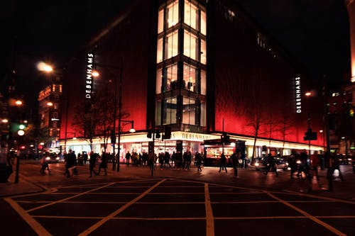 Free stock photo of live, london, night, oxford street