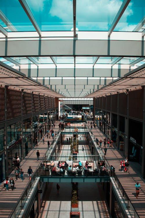 arkitektonisk design, arkitektur, butiker