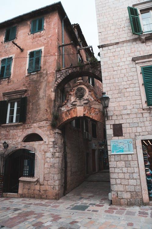 alameda, arquitetura, beco