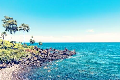 Kostenloses Stock Foto zu ferien, horizont, insel, küste