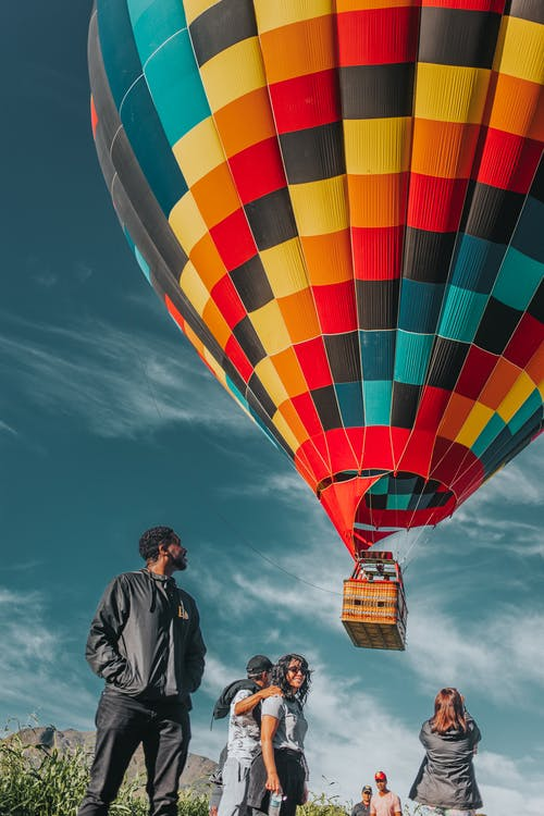 People Near Hot Air Balloon