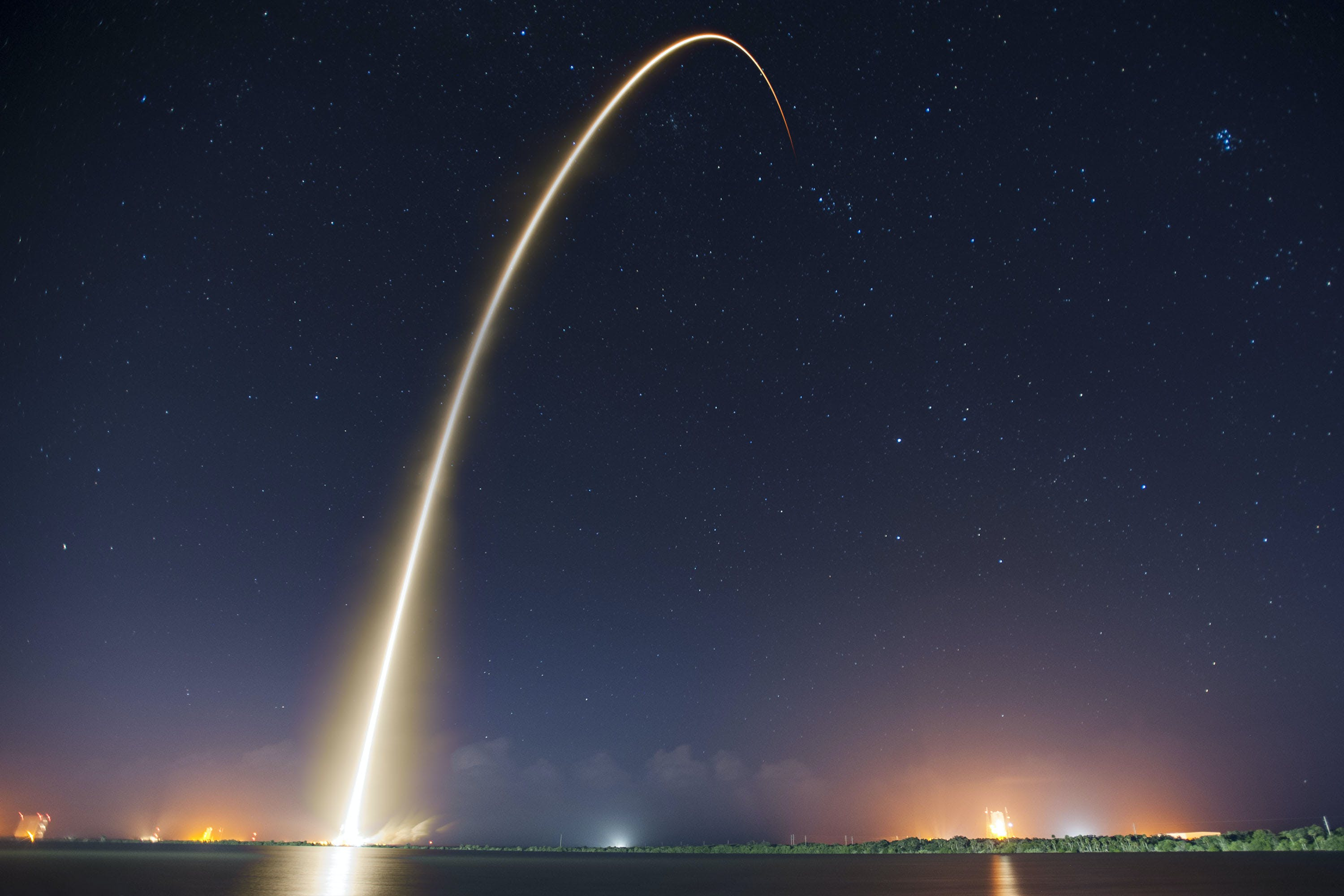 Free stock photo of discovery, launch, liftoff, long-exposure