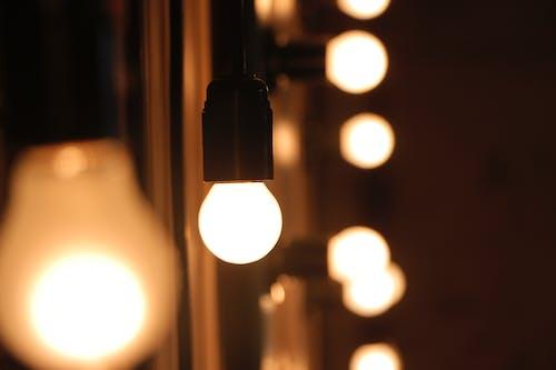 Foto stok gratis berbayang, berfokus, berkonsentrasi, bola lampu