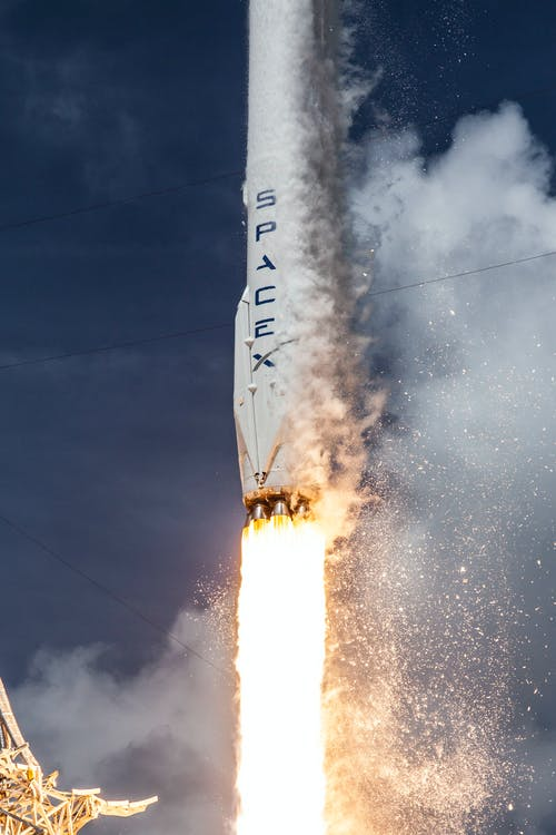 Free stock photo of discovery, fire, galaxy, launch