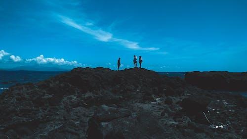 Ingyenes stockfotó alap, óceán, strand, sziklaformáció témában