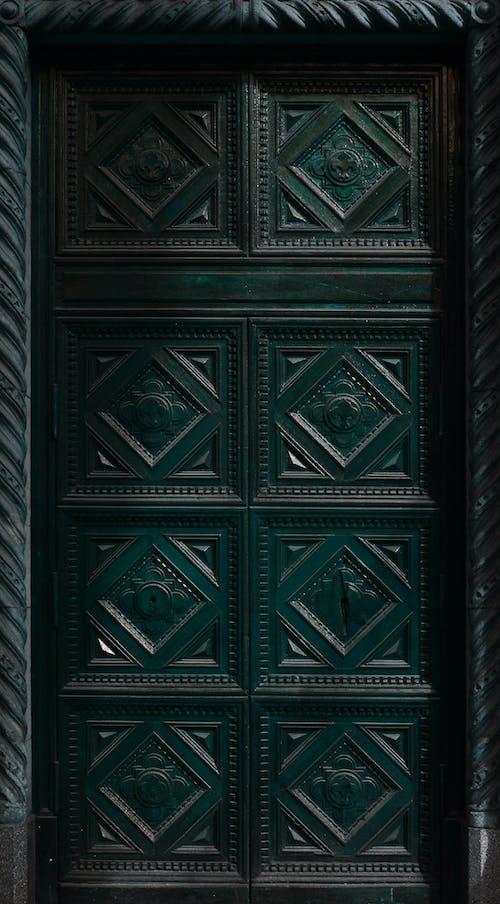 Kostenloses Stock Foto zu außen, eingeben, geometrisch, grün