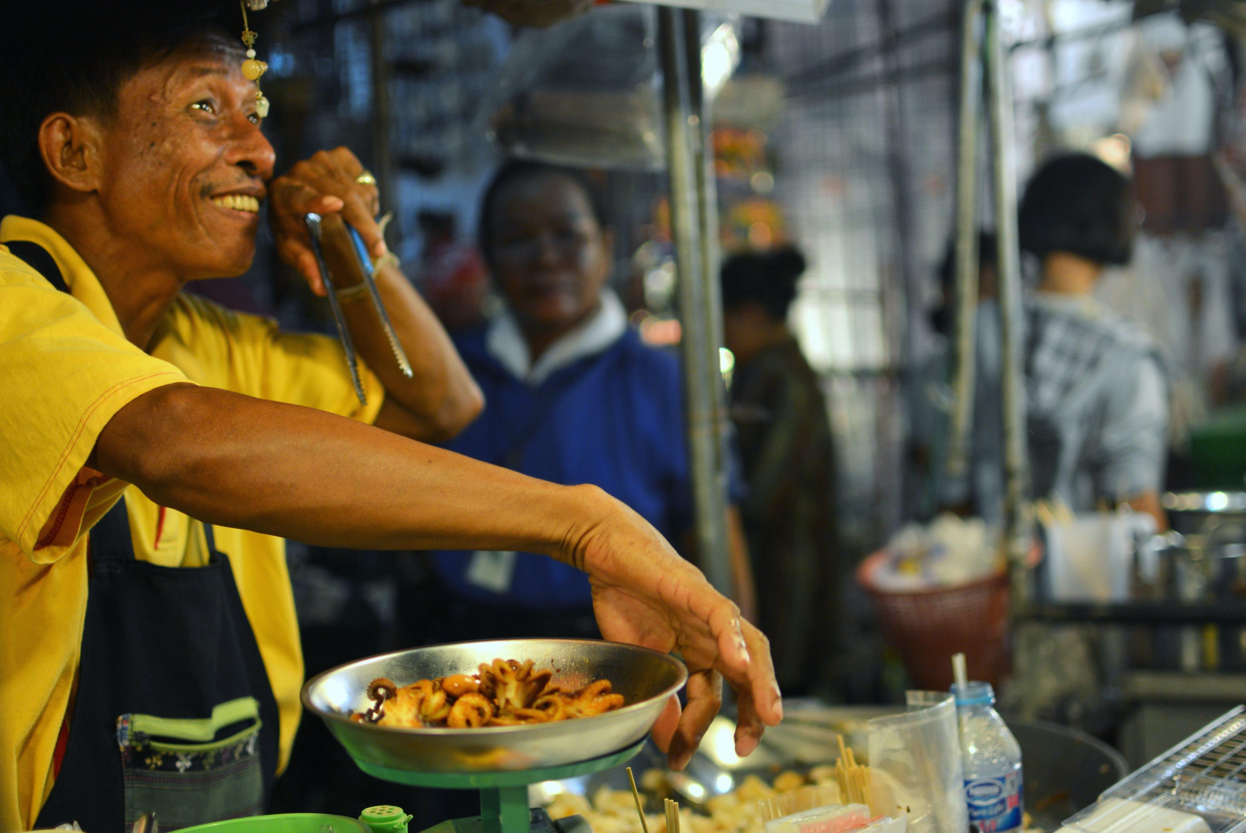 Free stock photo of Bangkok, night, night market, street