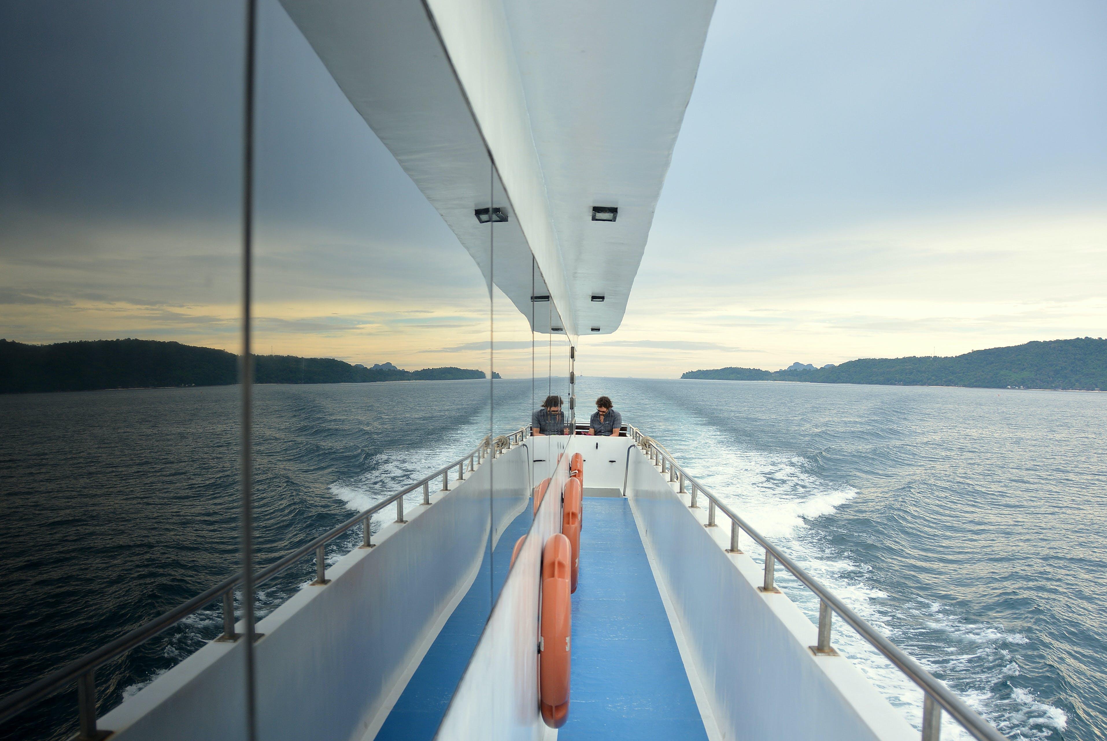 adventure, boat, deck
