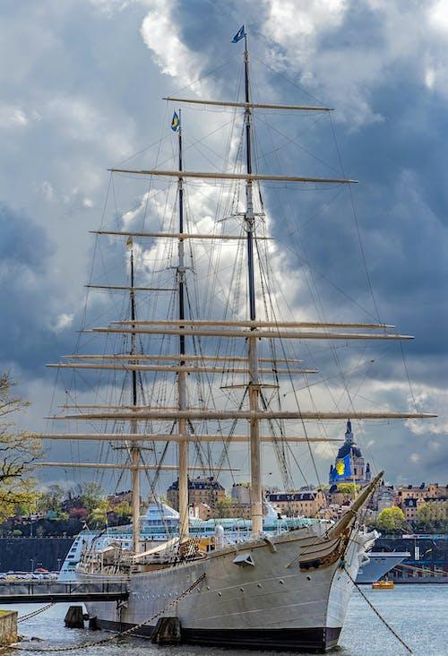 交通系統, 導航, 帆, 帆船賽 的 免费素材照片