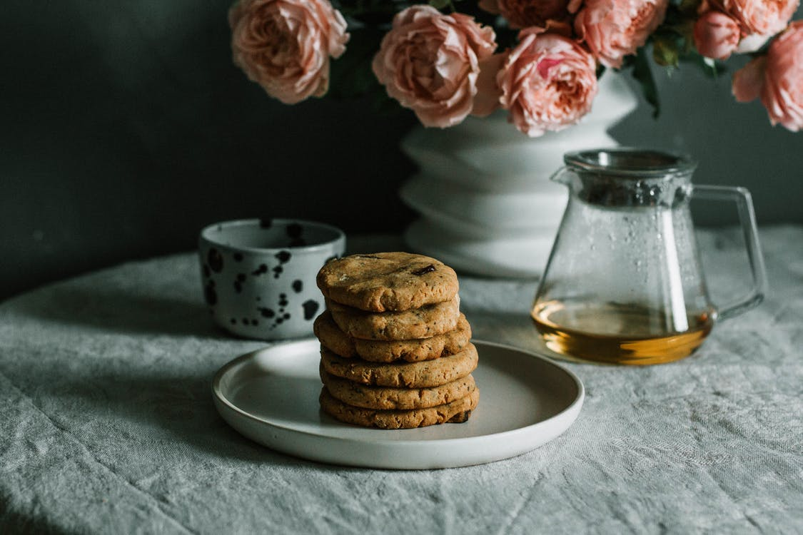 Baked Cookies  on Table