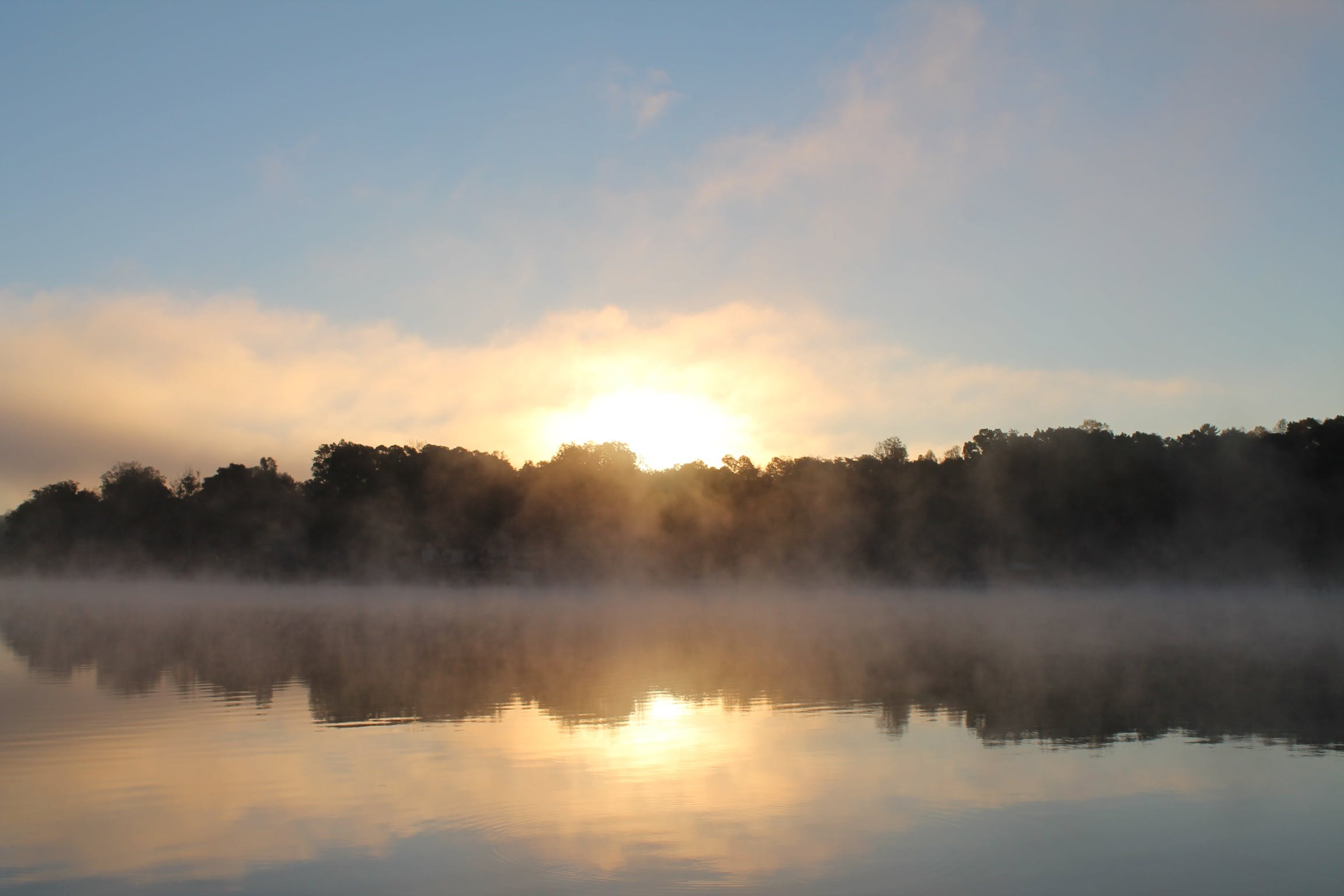 Free stock photo of lake, lake lookout, sunrise
