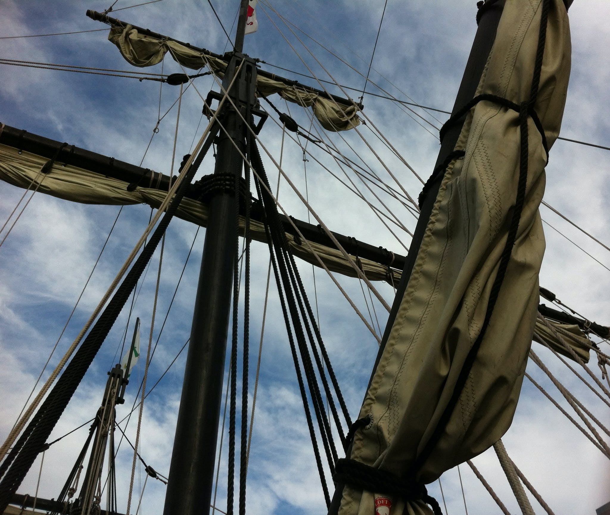 Free stock photo of sailing ship, boat, ship, rope