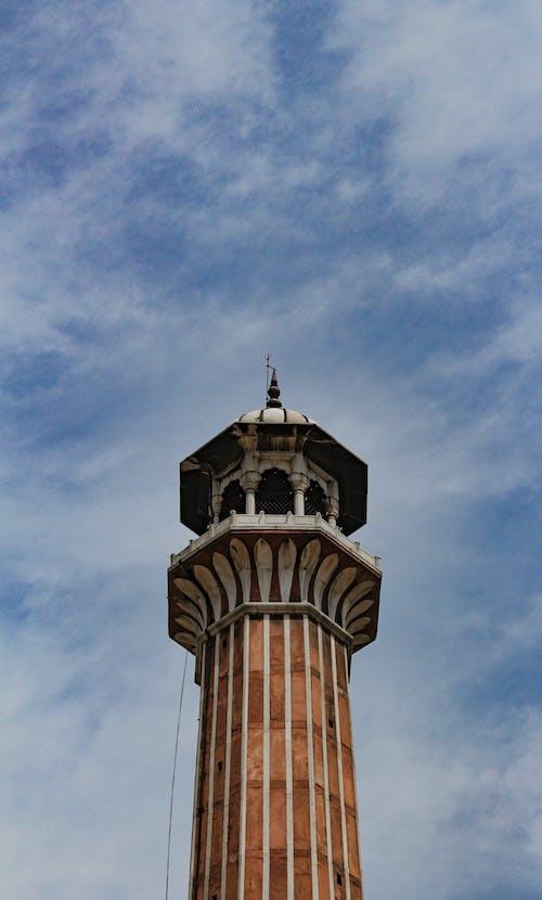 Foto d'estoc gratuïta de arquitectura, arquitectura de la mesquita, arquitectura índia, arquitectura masjid