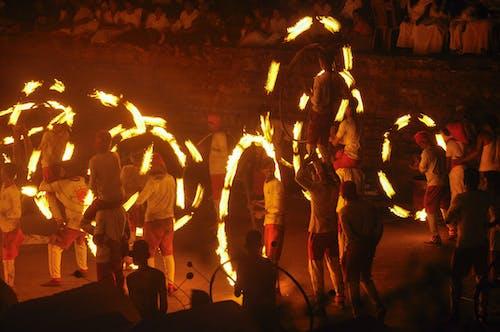 kandy perahera, 康提, 火舞 的 免费素材图片