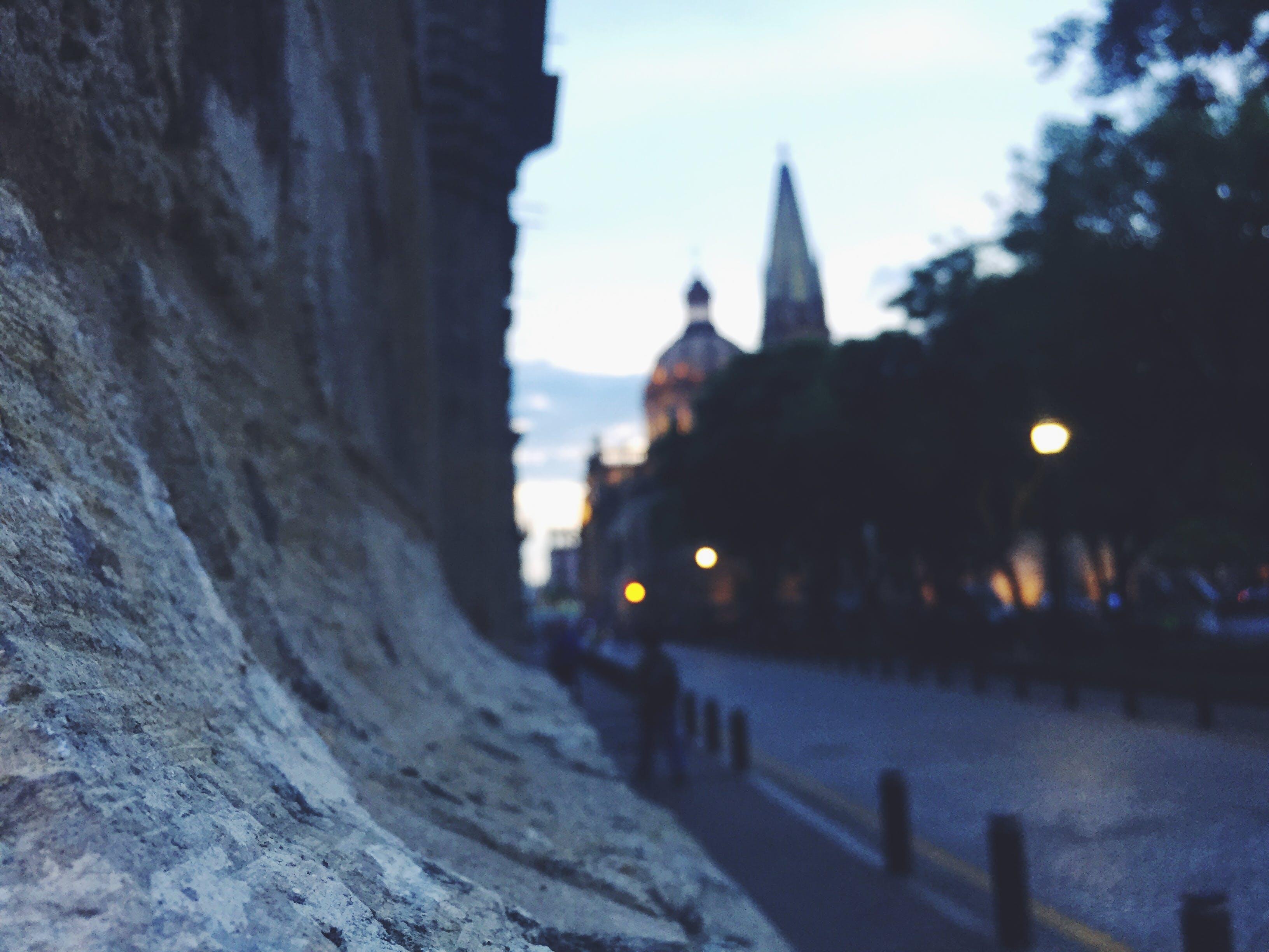 Free stock photo of light, city, road, dawn