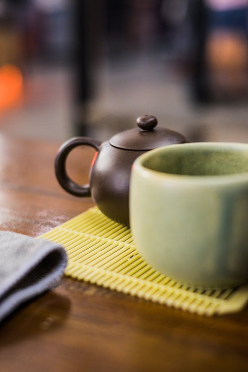 나무, 도자기 컵, 뜨거운, 목조의 무료 스톡 사진