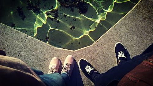 呎, 水, 運動鞋, 鞋類 的 免費圖庫相片