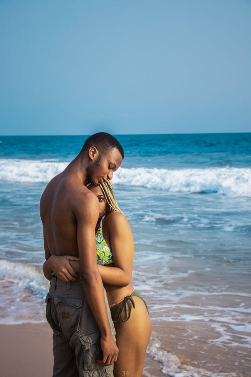 Couple Near Beach
