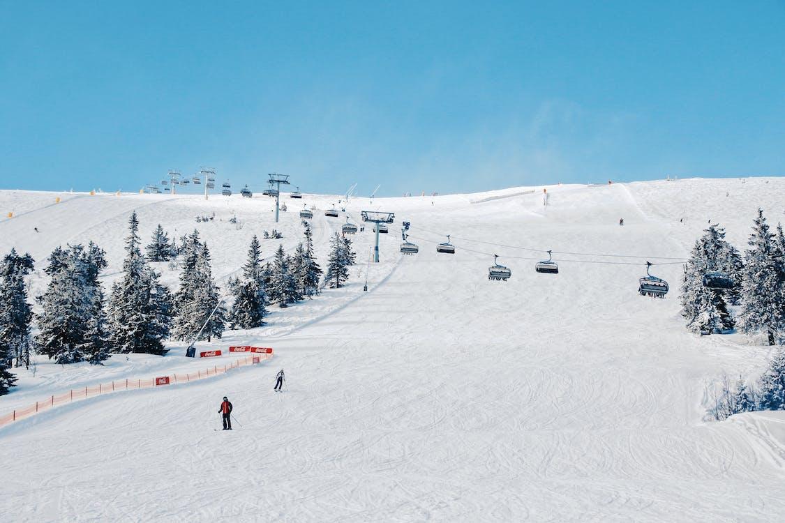 #winter, lyže, lyžiarske stredisko