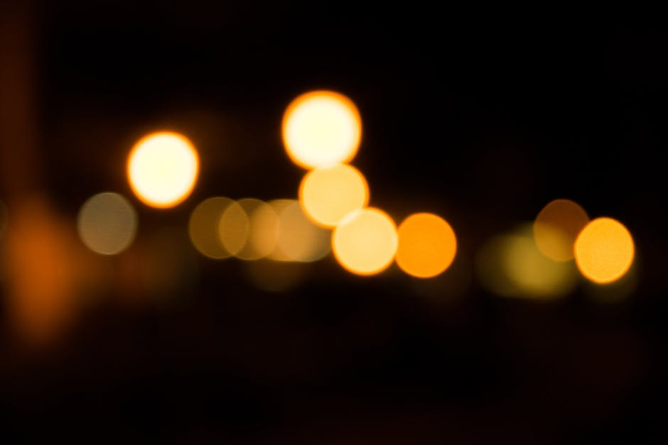 Abstract bit blur bright