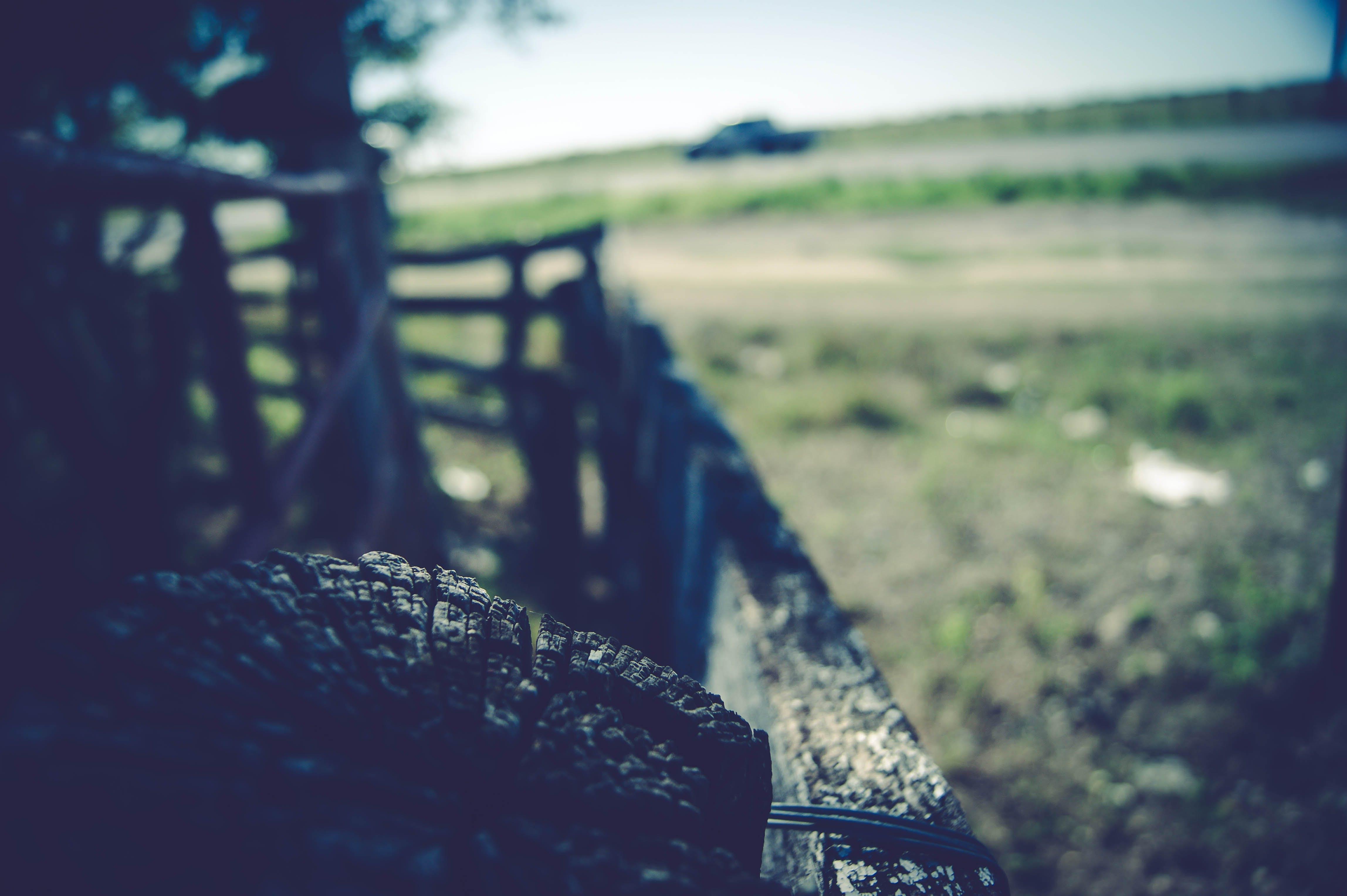 automobile, fence, grass