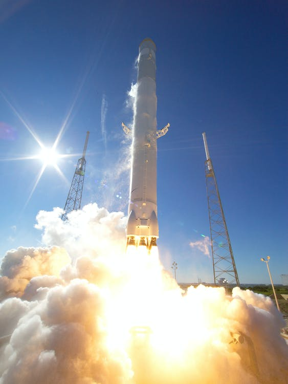 Free stock photo of cosmos, discovery, falcon 9