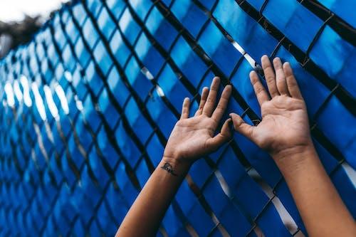 Foto d'estoc gratuïta de a l'aire lliure, blau, color, mans