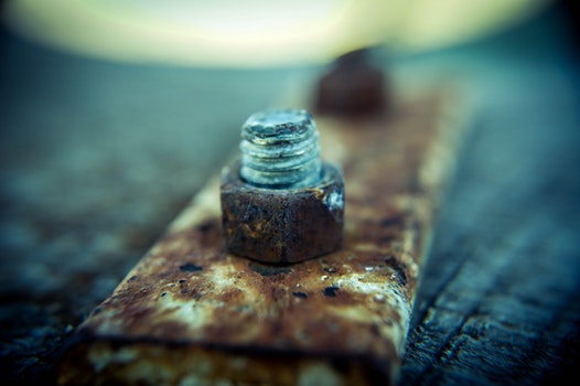 Free stock photo of blur, rust, macro, iron