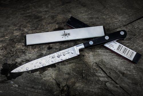 Immagine gratuita di acciaio, attrezzatura, coltello da cucina, filo d'erba