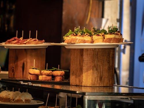 いい食べ物, スペイン料理, タパス, パンの無料の写真素材