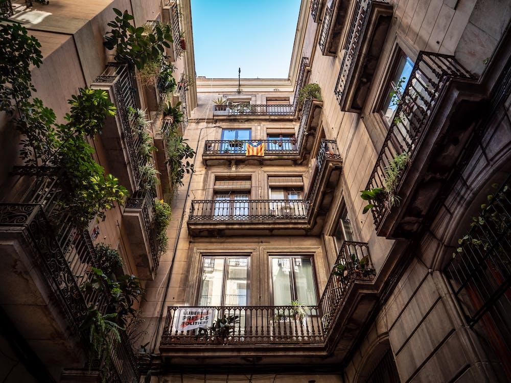 al aire libre, apartamento, arquitectura