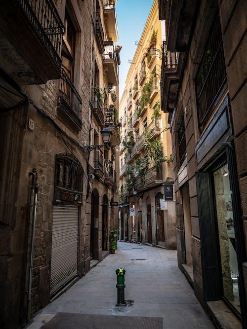 Foto stok gratis Arsitektur, bangunan apartemen, barcelona, desain arsitektur