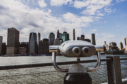 Foto d'estoc gratuïta de a l'aire lliure, alt, arquitectura, binocular