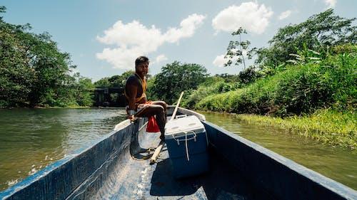 Free stock photo of boat, canoe, central america, latin america